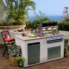 Bbq Outdoor Kitchen Kits Outdoor Kitchens Small Outdoor Kitchens And Bbq Island On