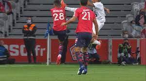 Ligue 1: Highlights OSC Lille - Stade Rennes 1:1 - Rot nach Kung-Fu-Tritt