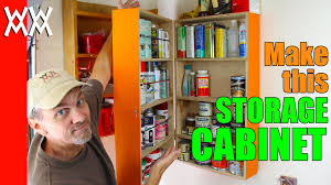 Cabinets For Workshop Easy Wall Mounted Storage Cabinet Organize Your Garage Or