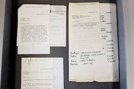 lost alan turing papers discovered in filing cabinet mental  courtesy university of manchester