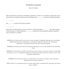 Nda Template Intellectual Property Non Disclosure Agreement Nda Free Sample Template