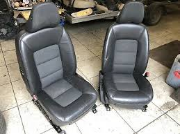 volvo v70 mk3 half leather seats black
