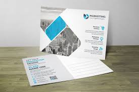 Design Your Own Postcard Corporate Psd Postcard Design Templates 002865
