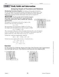 Awesome Collection of Analyzing Graphs Of Functions Worksheets ...