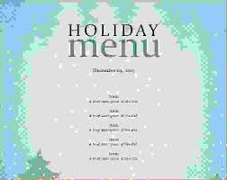 Free Party Menu Template - Tier.brianhenry.co