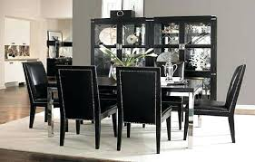 amazing black dining room table happyhippyco tall dining room chairs prepare
