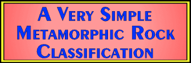 Metamorphic Rock Identification Chart A Very Simple Metamorphic Classification