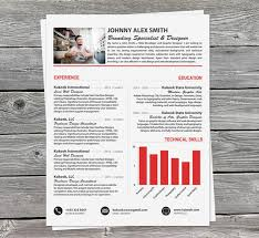 Modern Resume For Product Specialist Clean Resume Template Perfect For Creative Professionals Kukook
