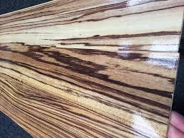 high gloss zebrano laminate flooring