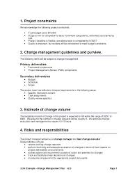 Scope Of Work Example Project Management Statement Sow Template Doc ...