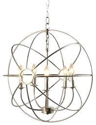 chandler light living chandler 5 light orb chandelier silver chandelier led light bulbs dimmable