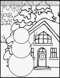 First Grade Christmas Coloring Pages – Festival Collections