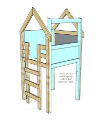 indoor playhouse plans free raised 8 kids clubhouses you never want to outgrow a playhouse with front porch windows and door free plans slide