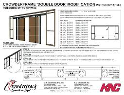 door bifold dimensions typical rough opening inch