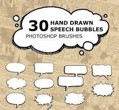 Photoshop Speech Bubble 220 Speech Bubble Brushes Abr Atn Download