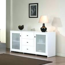 buffet with glass doors. Buffet Cabinet With Glass Doors Classic White Finish 2 Door 3 Drawer Server Dining Sideboard Kings