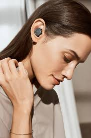 bang and olufsen beoplay e8. the beoplay e8 wireless earphones have a transparency mode to let through sounds from outside bang and olufsen i