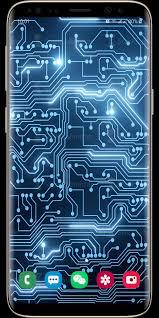 Circuit Live Wallpaper Iphone ...