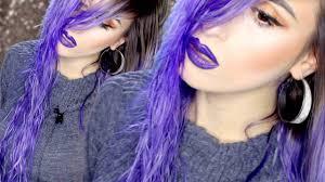 How To Bright Purple Hair La