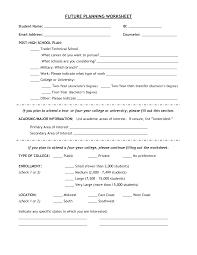 career planning worksheet info setting career goals smart worksheet