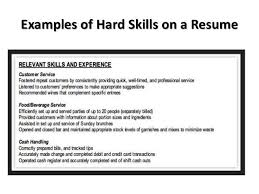 Hard Skills For Resume Stunning 136 Hard Skills Examples On A Resume Examples Of Resumes
