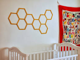 diy honeycomb hexagon popsicle stick wall art