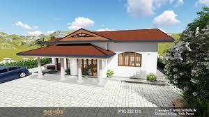 Box House Designs Sri Lanka House Plans In Sri Lanka Single Story 3d Plans Kedalla Lk