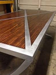 steel furniture designs. my custom crafted metal and wood tables shelves the garage journal board steel furniture designs