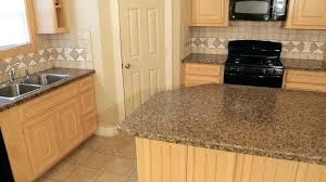 bevel edge laminate brown beveled wood countertop micro kitchen s double