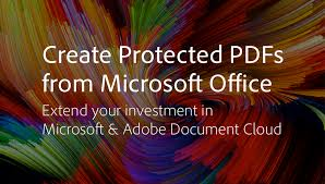 Brown Microsoft Office Create Protected Pdfs From Microsoft Office Adobe Blog