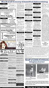 rockwall county s newspaper of record