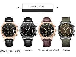 megir mens chronograph military classic calender fashion luxury 1 x megir wrist watch