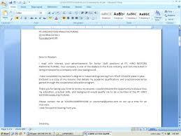 Email Sample Sending Resume Cover Letter Emailing Resume Sample