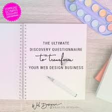 The Right Discovery Questionnaire Will Transform Your Website Design