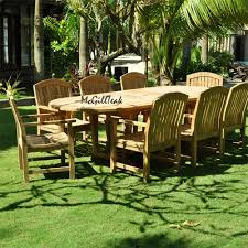 Outdoor Patio Table Oval