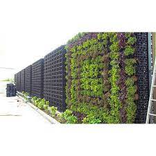 plastic outdoor green wall garden rs