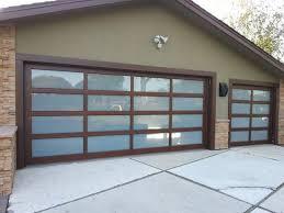 glass classic glass garage door in sunnyvale ca