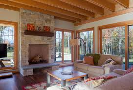 two sided fireplace indoor outdoor fresh by tara home is where the hearth is truexcullins architecture interior