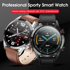 <b>New Smart Watch</b> L13 Men ECG+<b>PPG</b> IP68 Waterproof Bluetooth ...