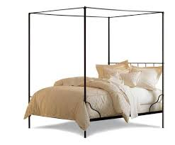 Stylish Metal Canopy Bed Frame  Modern Wall Sconces And Bed IdeasCanopy Iron Bed