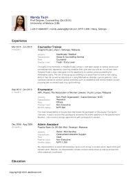Edit Resume Jobstreet Pelosleclaire Com