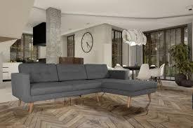 Details Zu Elegant Ecksofa Polstersofa Couch Heven Skandinavisch Couchgarnitur Eckcouch 05