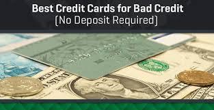 $500 credit card limit no deposit. 6 Best Credit Cards For Bad Credit No Deposit Unsecured Badcredit Org Badcredit Org