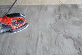 sanding concrete countertops feather finish concrete and how to avoid a huge mistake sanding concrete countertops