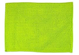 chenille bath rug com ultra soft plush spa pebble chenille bath mat place with lime