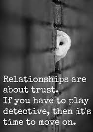 I Never Understood A Person Being With Someone They Can't Trust Fascinating Trust In Relationships