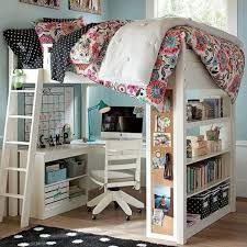 attractive loft beds for girls with desk 20 loft beds with desks to save kids room space kidsomania