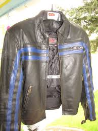 cortech leather jacket front