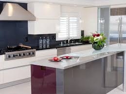 White Gloss Kitchen Designs Kitchen Modern Small Kitchen Design Layout Ideas With Blue Tile