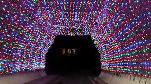 New Hampshire Speedway Holiday Lights Nh Motor Speedway Holiday Light Tunnel Youtube
